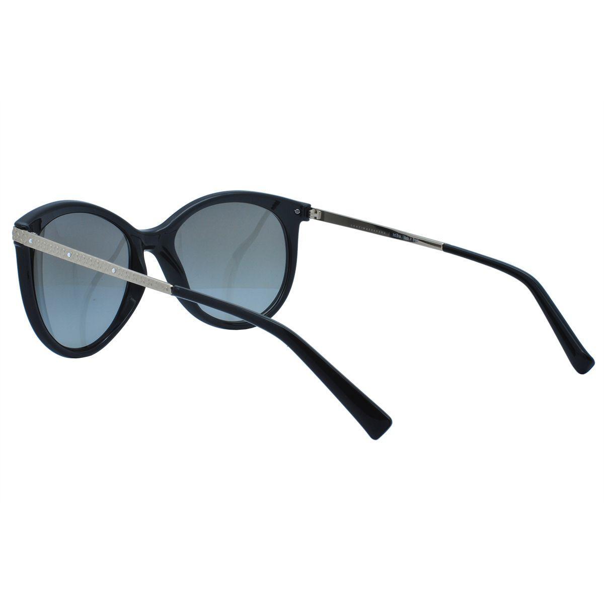 7bc3196c308de Óculos de Sol Grazi Feminino GZ4018B E431- Acetato Preto, Metal Dourado e Lente  Cinza - Grazi massafera R  306,00 à vista. Adicionar à sacola