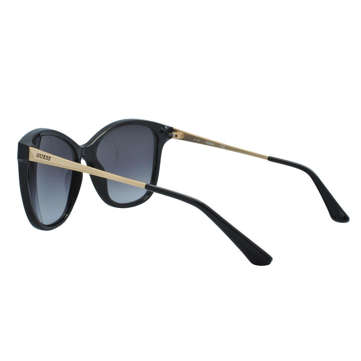 a6b7a3779 Óculos de Sol Guess Feminino GU7502 01A - Acetato Preto Produto não  disponível