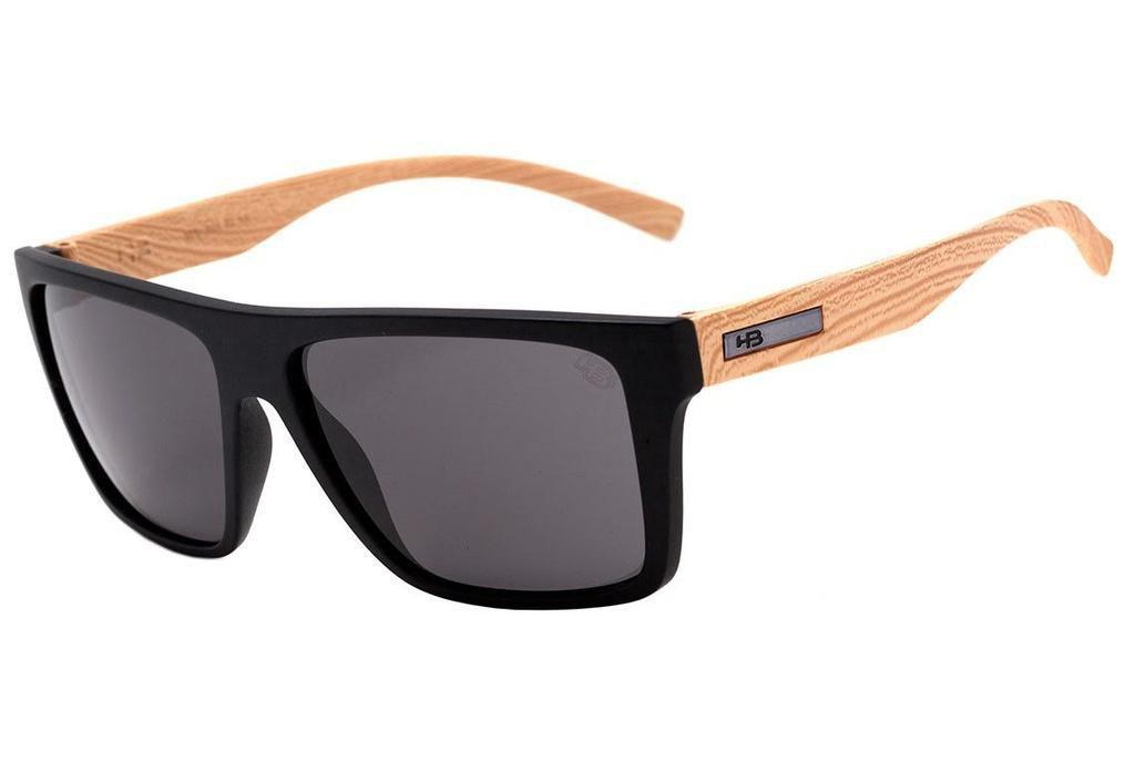Óculos de Sol HB Floyd Matte Black / Wood Gray - Óculos de Sol - Magazine  Luiza