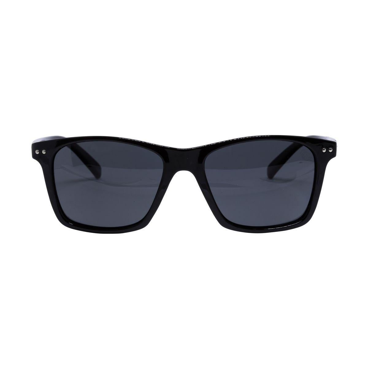 2fdd249ff69d8 Óculos de Sol HB Nevermind Unissex 90105002 - Acetato Preto e Lente Cinza -  Hb - hot butterd Produto não disponível