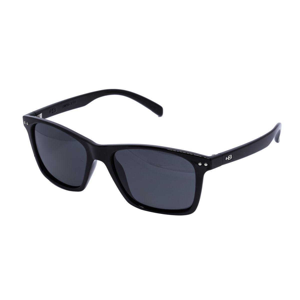 644647820bbd6 Óculos de Sol HB Nevermind Unissex 90105002 - Acetato Preto e Lente Cinza -  Hb - hot butterd R  210,00 à vista. Adicionar à sacola