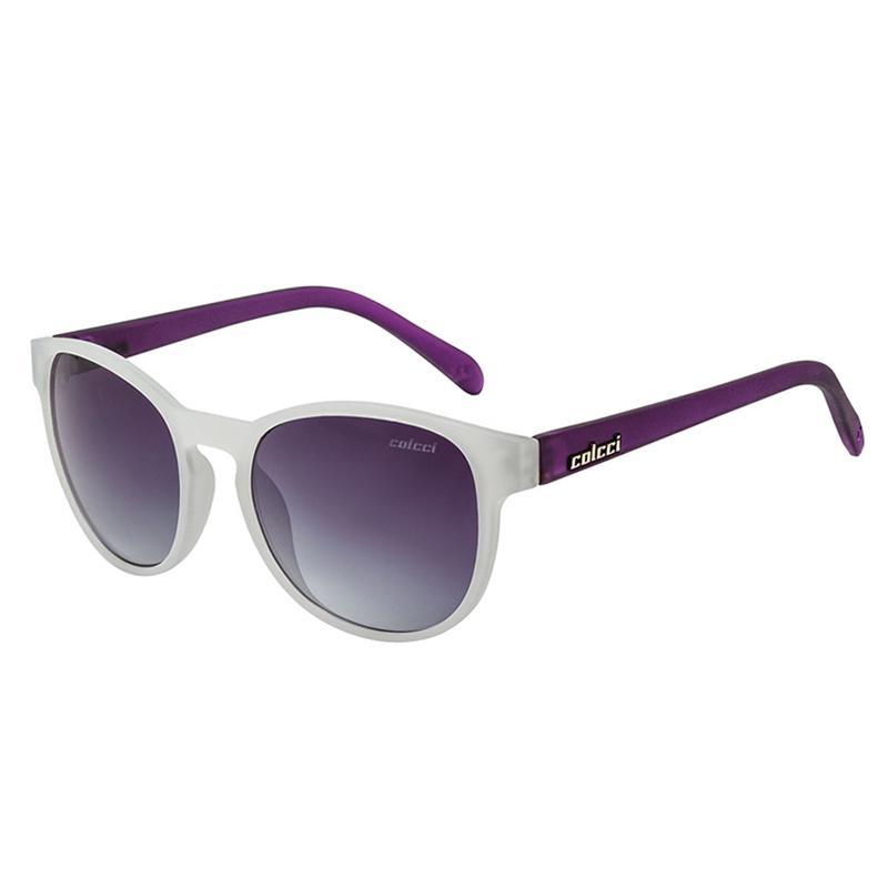 f971971d9d119 Óculos De Sol June Branco e Roxo Fosco Colcci Produto não disponível