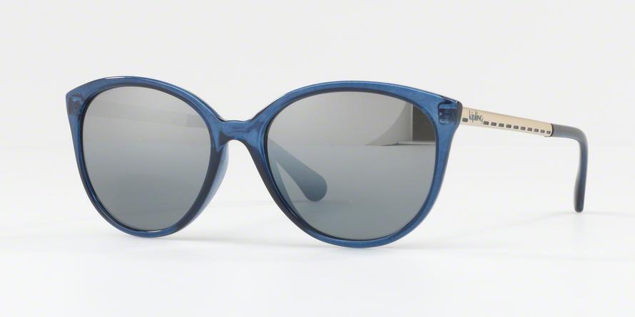 e62472db1d29c Óculos de Sol Kipling KP4048 E746 Azul Translúcido Lente Espelhada Prata  Cinza Degradê Tam 55 R  259,99 à vista. Adicionar à sacola