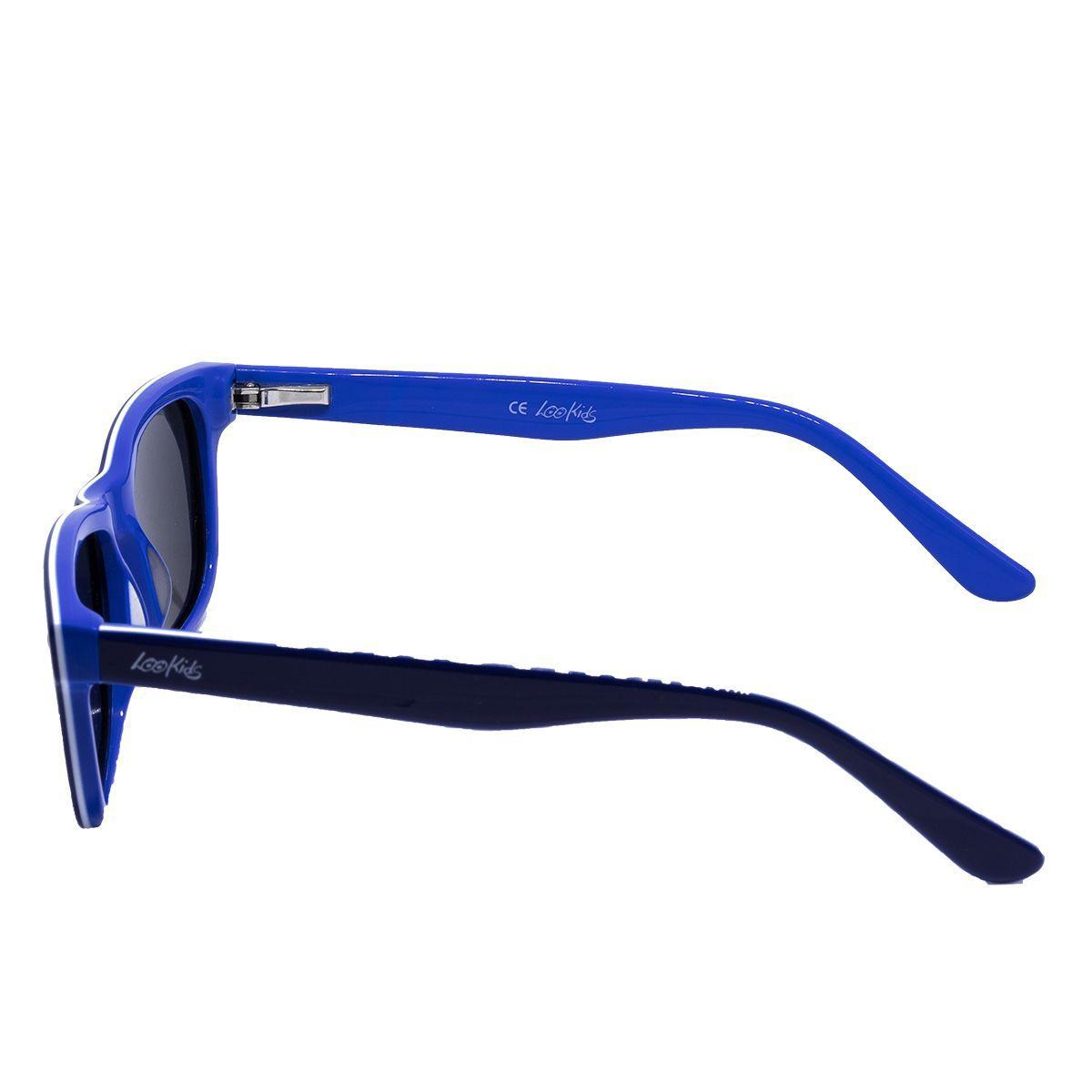b61f5a2b2b2b0 Óculos de Sol Lookids LD6140 2 - acetato azul branco