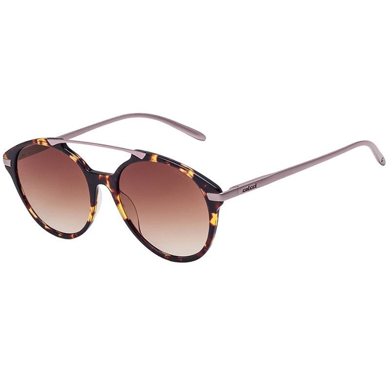 56f483194 Óculos De Sol Marrom Demi E Rose Brilho Com Marrom Degradê Colcci Produto  não disponível