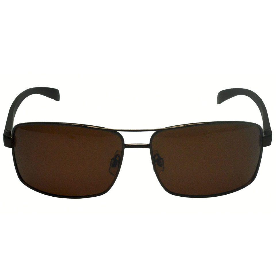 076d5669a60f7 Óculos De Sol Marrom Social Esporte Polarizado Homem 711 - Izaker R  97