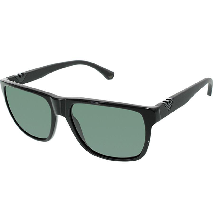 9a9c988d7da7b Óculos de Sol Masculino Emporio Armani Acetato Preto Lentes Cinza - Emporio  Armani Produto não disponível