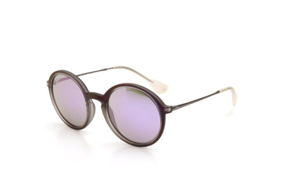 26d06a6a0bde0 Óculos de Sol Masculino Ray Ban Acetato Espelhado Roxo - Ray-ban R  396