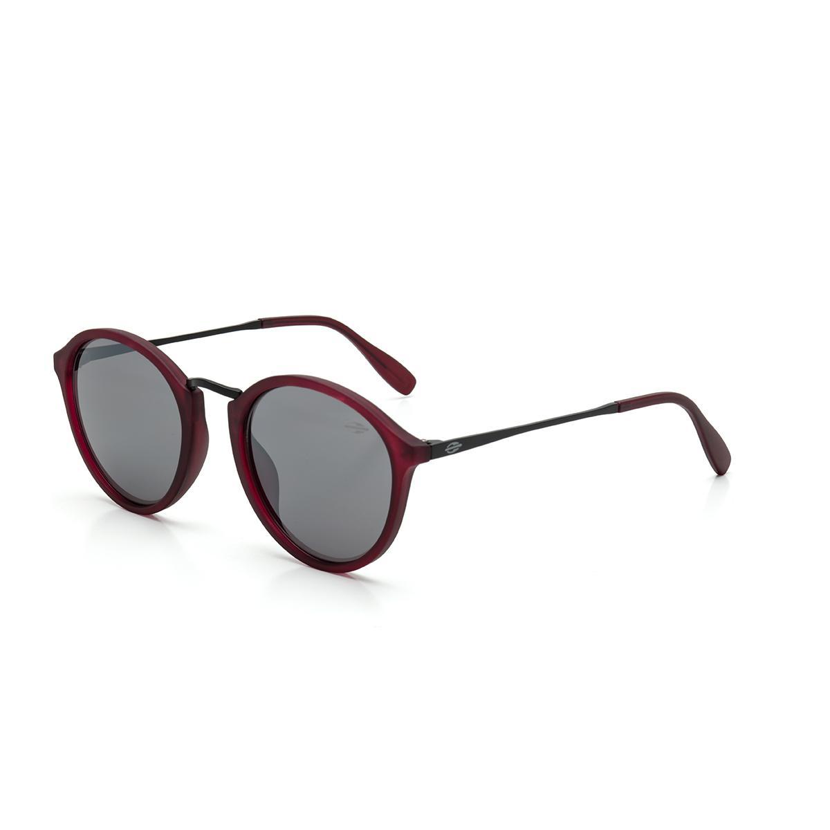 60e629d86e99e Óculos de Sol Mormaii CALI M0077 C12 09 Vinho Burgundy Lente Espelhada Prata  Tam 50 R  329