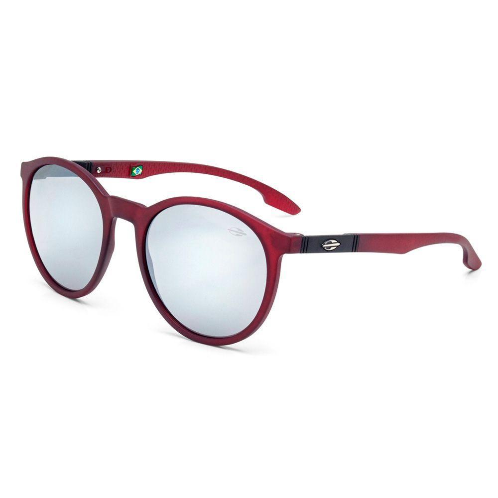 Óculos de sol mormaii maui burgundy fosco l cinza fl prata bordo R  249,00  à vista. Adicionar à sacola e88f6953ce