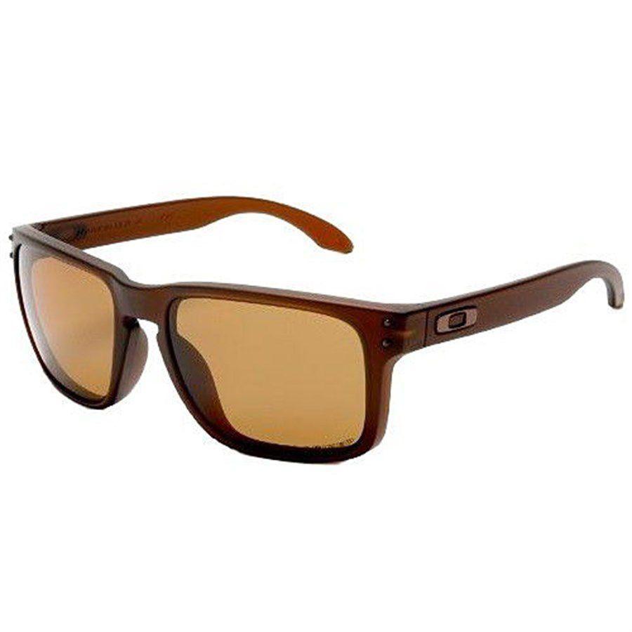 Óculos de Sol Oakley Holbrook Castanho com Lente Polarizada Bronze - Oakley  Produto não disponível 3bd32d08a9