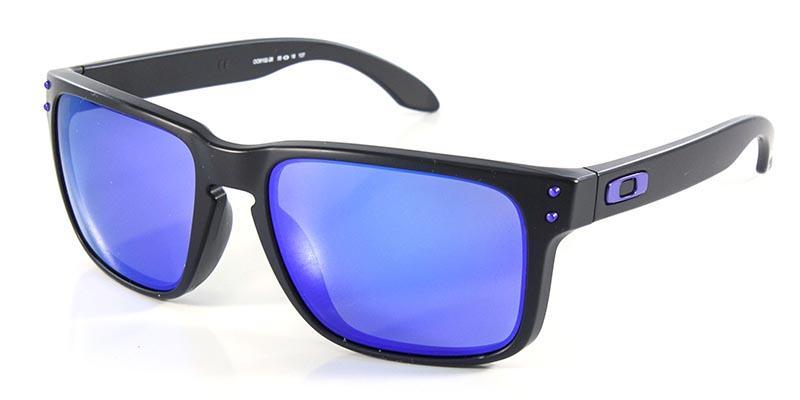d880e38a18f70 Óculos de Sol Oakley Holbrook Matte Black (Julian Wilson) OO9102 Preto Lente  Iridium R  419