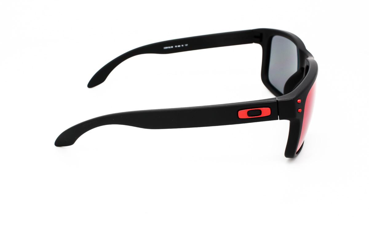 714d58c698f4d Óculos de Sol Oakley Holbrook OO9102 Preto Lente Vermelho Iridium Produto  não disponível