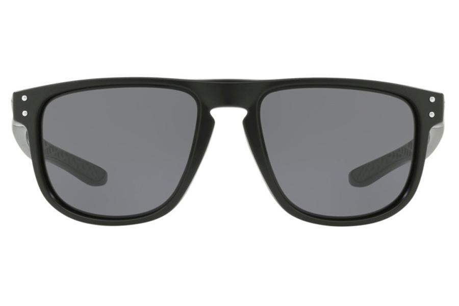 6de60d1edfcd7 Óculos de Sol Oakley Holbrook R 0OO9377 01 55 Preto Fosco Lente Cinza R   488