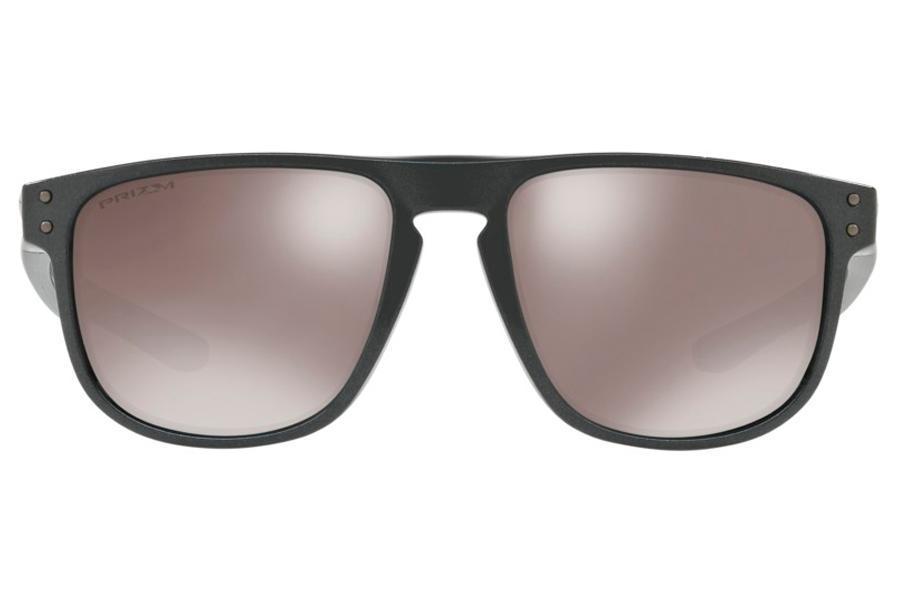 d6d664a4910cc Óculos de Sol Oakley Holbrook R 0OO9377 08 55 Cinza Lente Preto Espelhado Polarizado  R  599
