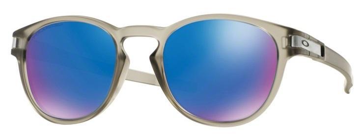 bfec90c4aee7c Óculos de Sol Oakley Latch OO9265 Cinza Fosco Lentes Safira Iridium  Polarizado Produto não disponível