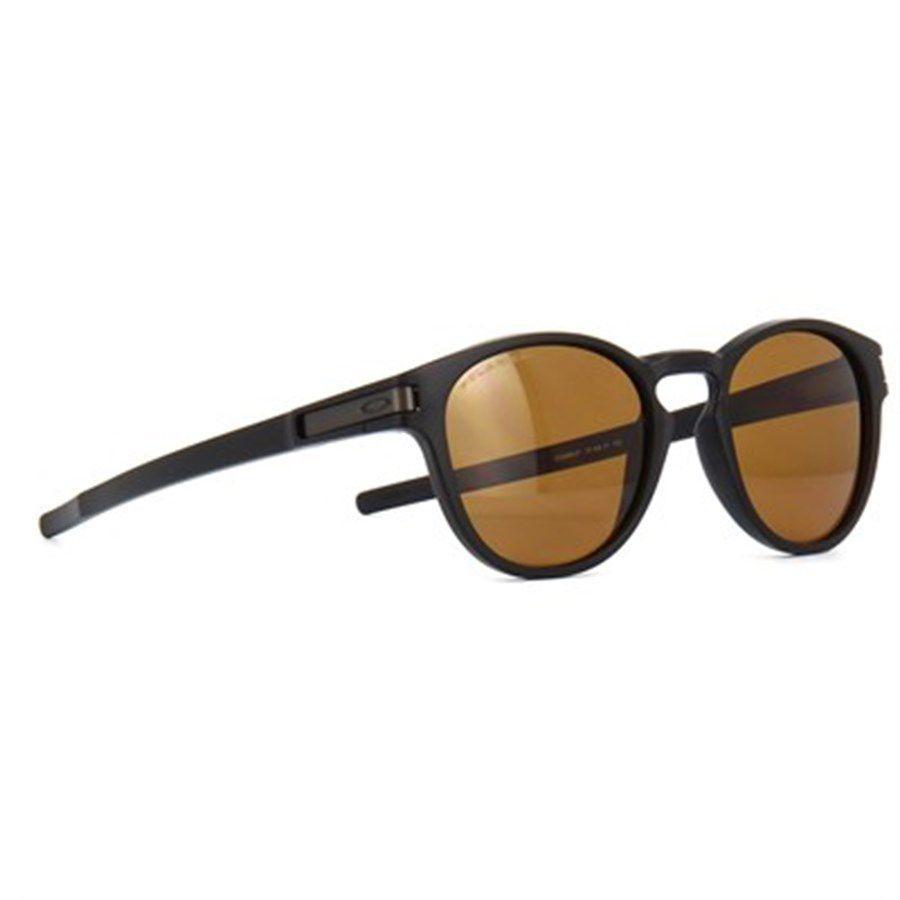 Óculos de Sol Oakley Latch Preto com Lente Marrom Polarizada Produto não  disponível 29ffad25c70