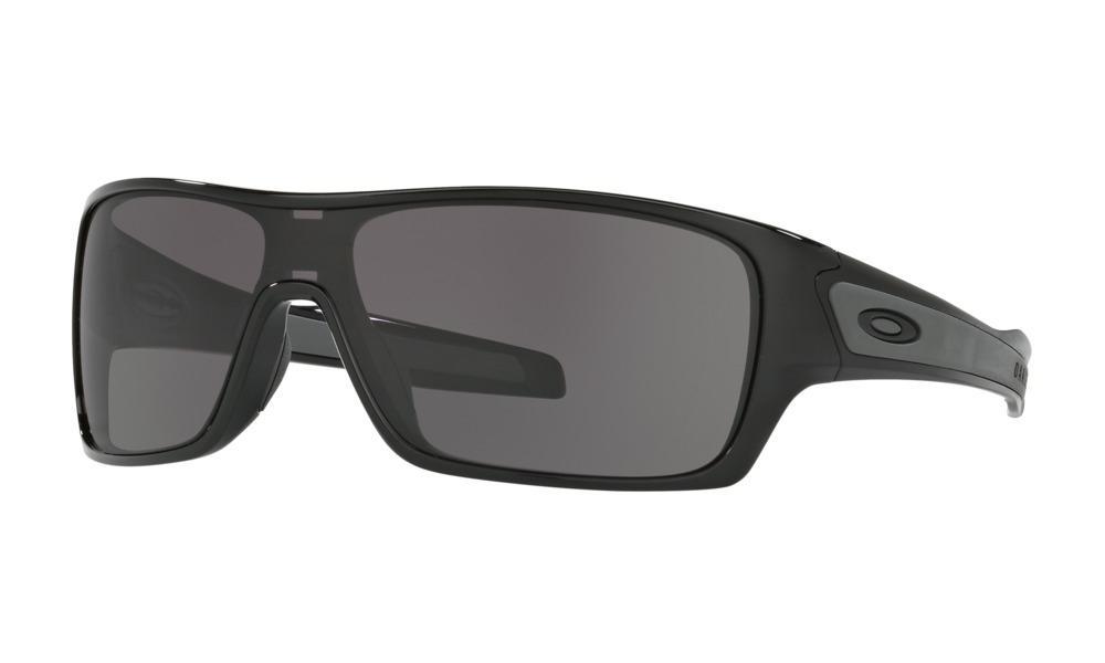 Óculos de Sol Oakley Turbine Rotor Polished Black Warm Grey Produto não  disponível 23628fdd163