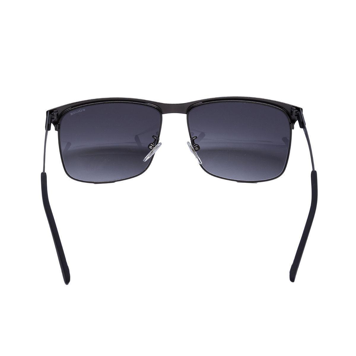 6773232df Óculos de Sol Police Masculino SPL570N COL0627 - Metal Preto, Lente Cinza  Degradê Produto não disponível