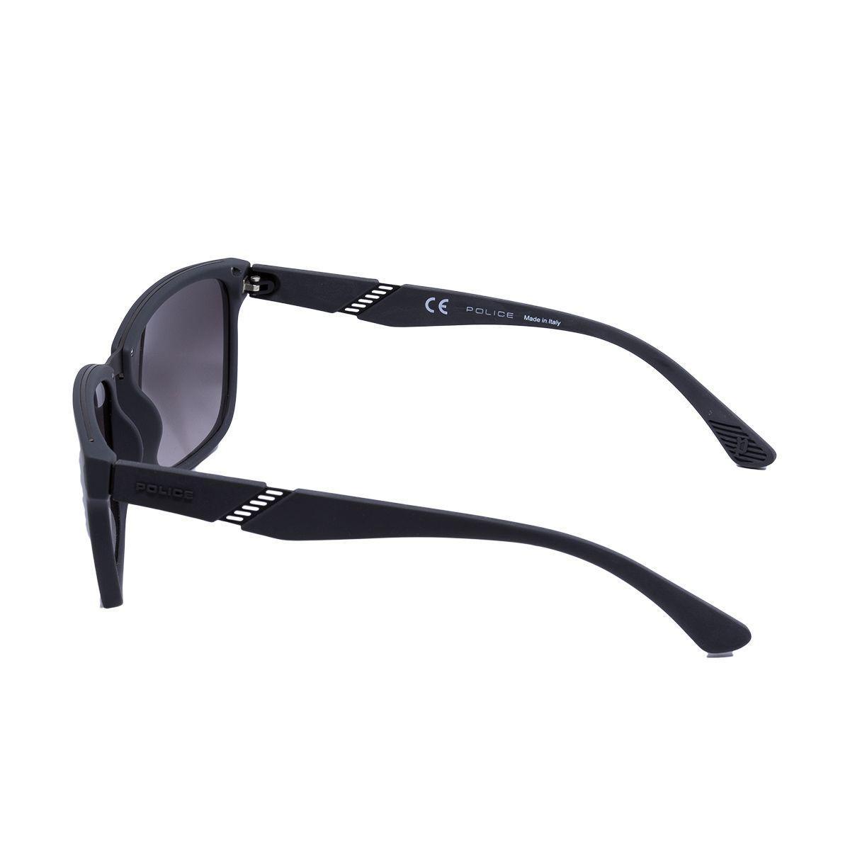 c2ad563d23e04 Óculos de Sol Police SPL350 COL.09U5 - acetato preto fosco, lente cinza R   863,00 à vista. Adicionar à sacola
