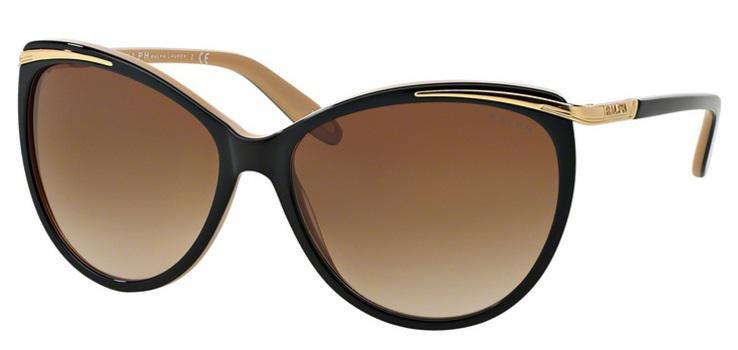 a0828bb92 Óculos de Sol Ralph by Ralph Lauren RA5150 Preto Nude - Óculos de ...