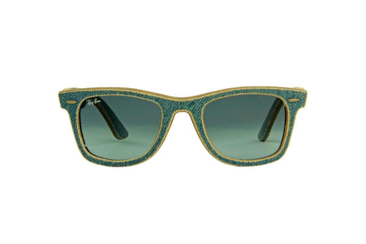b7b42da8292c9 Óculos de Sol Ray-Ban 100 Proteção U.V. Melani Jeans Claro - Óculos ...