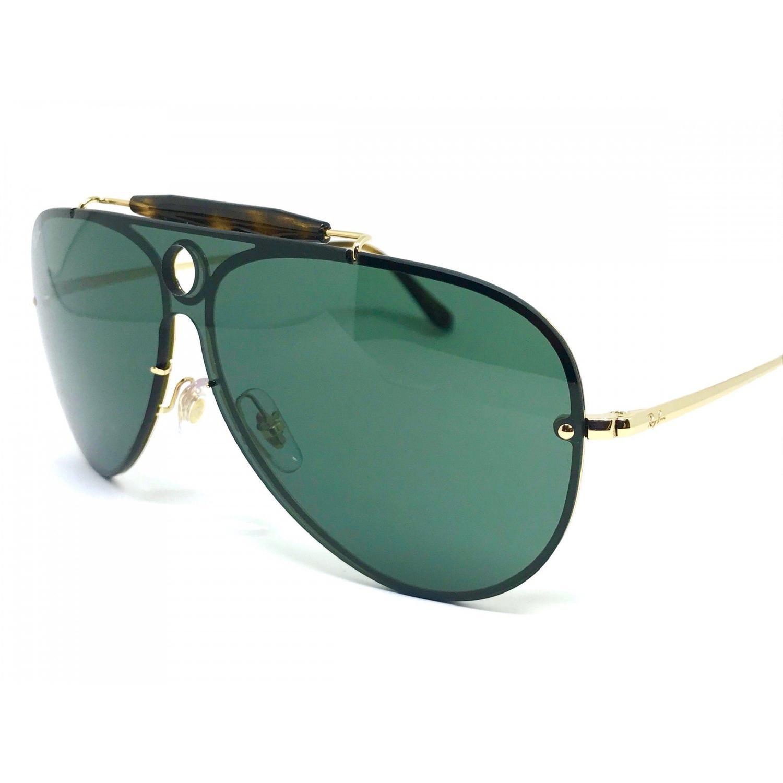 f6bda14860c36 Oculos de sol Ray Ban Aviador Blaze Shooter RB 3581N 001 71 32 R  606