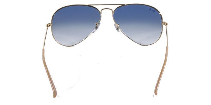 d3fc411dd5524 Óculos de Sol Ray Ban Aviador Clássico RB3025 Ouro Lente Azul Degradê - Ray- ban R  449