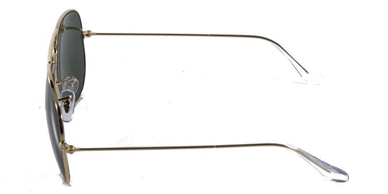 3149187d6919e Óculos de Sol Ray Ban Aviador Clássico RB3025 Ouro Lente Verde R  429