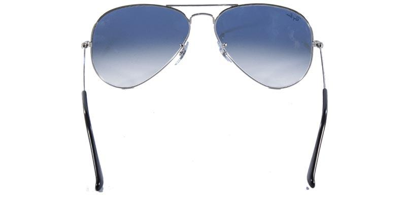 ae8d66a0525f6 Óculos de Sol Ray Ban Aviador Clássico RB3025 Prata Lente Azul Degradê - Ray -ban R  449