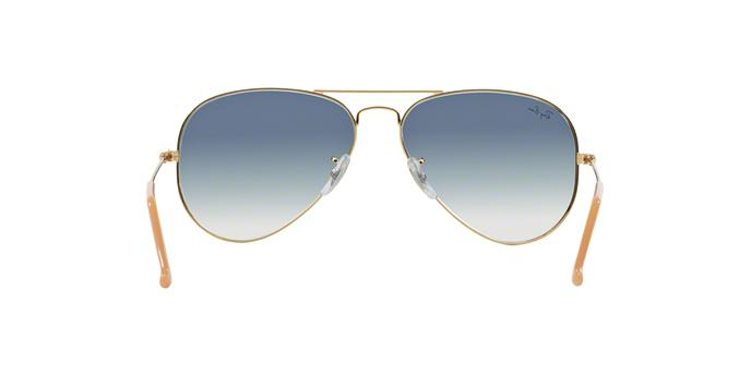 3fcf5920f Óculos de Sol Ray Ban Aviador Clássico RB3025L 0013F Ouro Lente Azul Degradê  Tam 55 - Ray-ban R$ 457,24 à vista. Adicionar à sacola