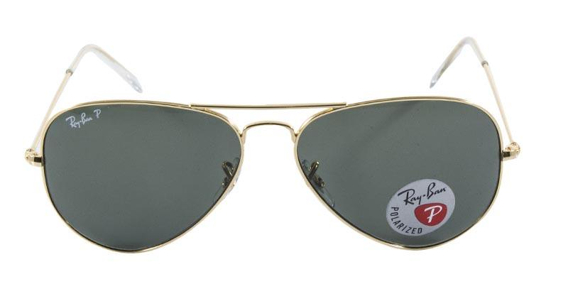 5a93ec0c74025 Óculos de Sol Ray Ban Aviador Clássico RB3025L 00158 Ouro Lente Verde G15  Polarizada Tam 58 - Ray-ban R  469,99 à vista. Adicionar à sacola