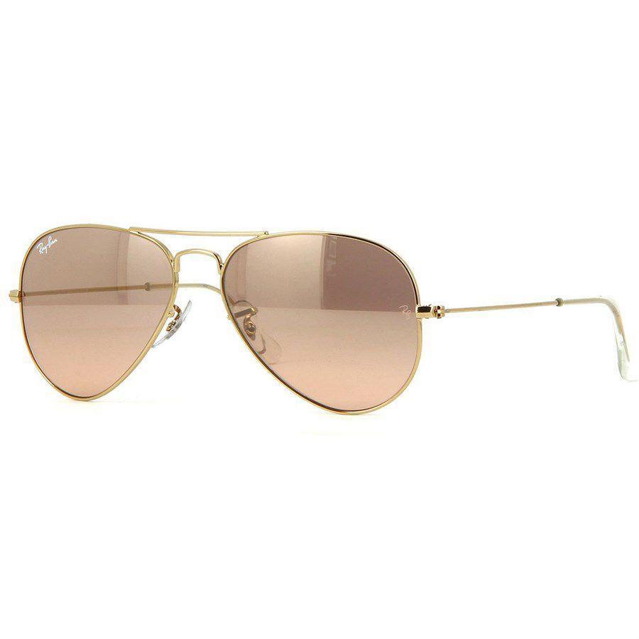 Óculos de Sol Ray Ban Aviador Feminino Rosé - Ray-Ban Produto não disponível fc40f931b6