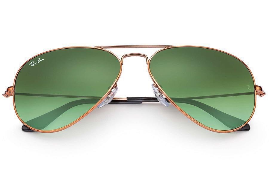 12440a0fe Óculos de Sol Ray Ban Aviator Large Metal II RB3026L 9002A6/62 Cobre -  Lente Verde Degradê Produto não disponível
