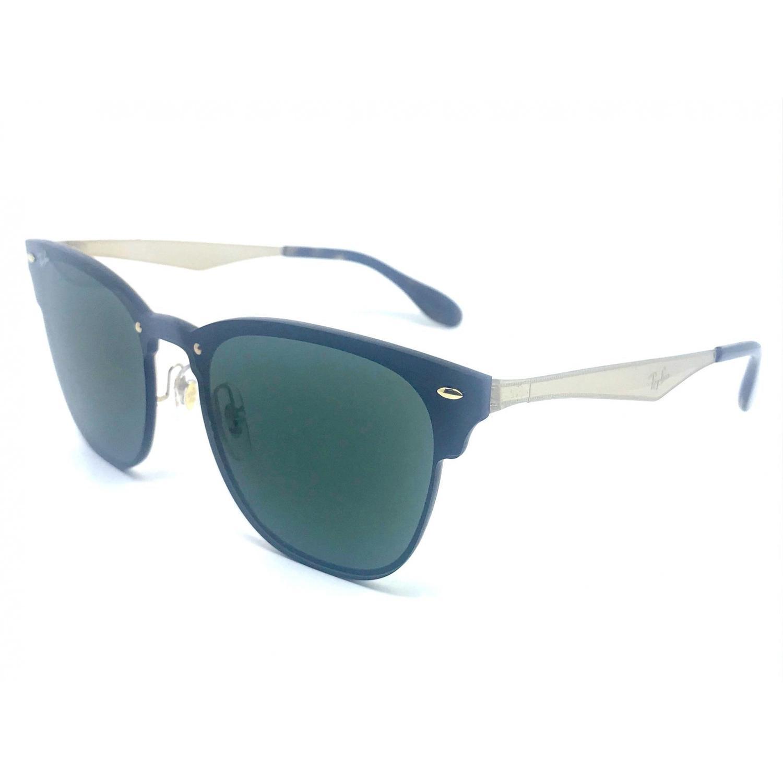 757b469cb Oculos de sol RAY BAN Blaze Clubmaster RB3576N 043 71 41 R$ 504,79 à vista.  Adicionar à sacola