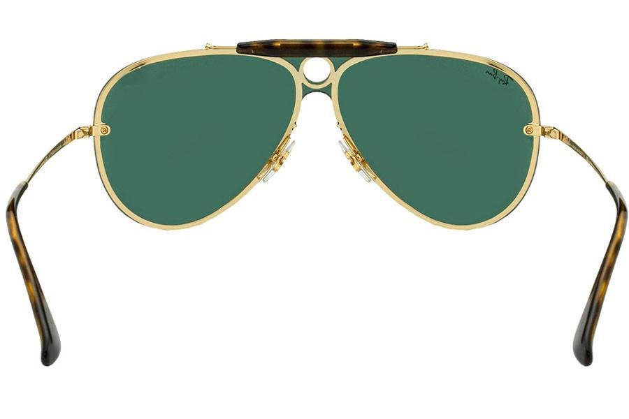 18e3bf2cb17ee Óculos de Sol Ray Ban Blaze Shooter RB3581N 001 71 32 Dourado Produto não  disponível