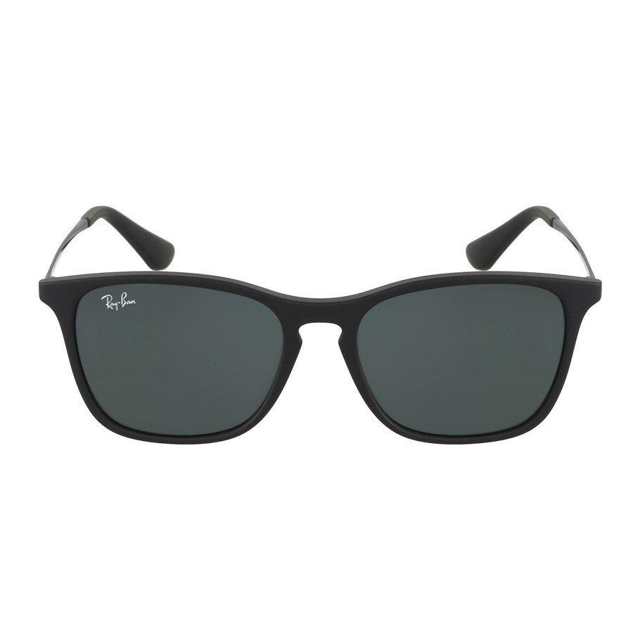 e02ab04272047 Óculos de Sol Ray Ban Chris Infantil Preto Fosco - RJ9061S700571 - Ray-ban  Produto não disponível