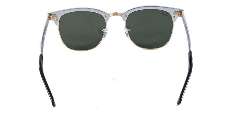 b49107ce102f7 Óculos de Sol Ray Ban Clubmaster Aluminum RB3507 Prata Ouro - Ray-ban  Produto não disponível