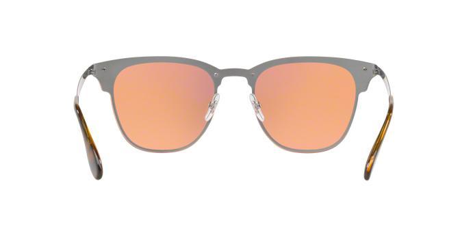 Óculos De Sol Ray Ban Clubmaster Blaze RB3576 Azul Escovado Lentes Laranja  Ouro Espelhado - Ray-ban R  459,99 à vista. Adicionar à sacola f9ca949bf4