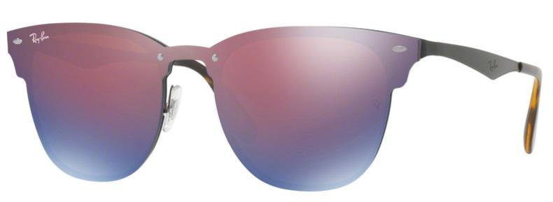 615689d71a895 Óculos De Sol Ray Ban Clubmaster Blaze RB3576 Preto Lentes Violeta Azul  Espelhado - Ray-ban R  459,99 à vista. Adicionar à sacola