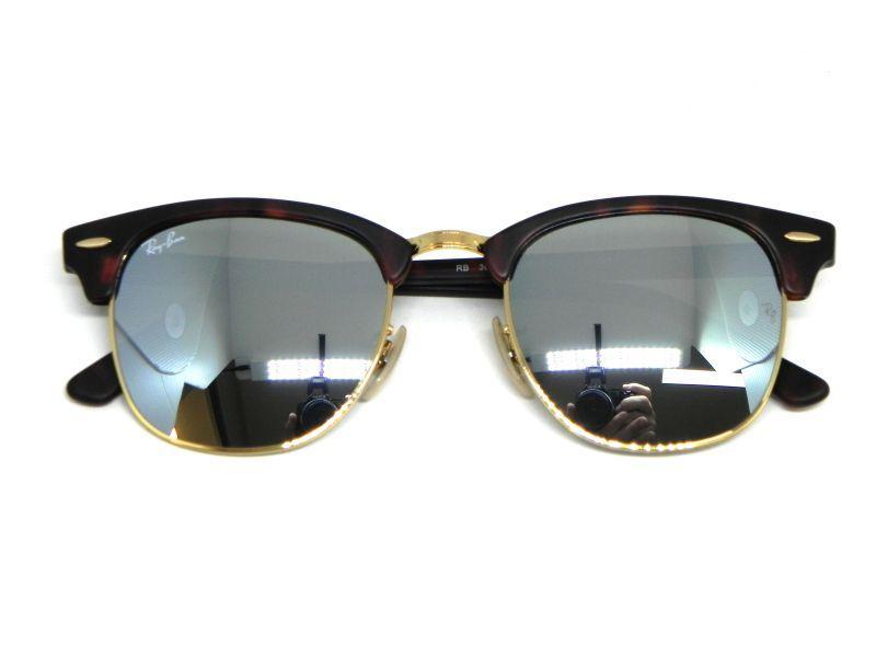 8eadeea760 Oculos de sol Ray Ban Clubmaster RB 3016 1145 30 51 - Progressiva ...