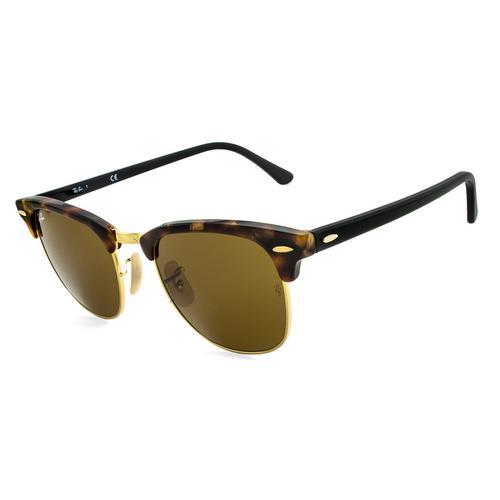 7557936634 Óculos de Sol Ray Ban Clubmaster RB3016 Tartaruga - Ray-ban R  449