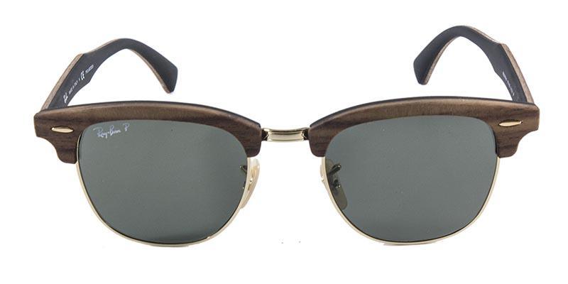 684c1ab0e Óculos De Sol Ray Ban Clubmaster Wood Rb3016 Madeira Ouro Lente Polarizada  - Ray-ban Produto não disponível