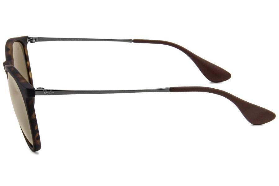 a8258cea720b7 Óculos de Sol Ray Ban Erika L RB4171L 865 5A 54 Tartaruga Espelhado Marrom  R  520