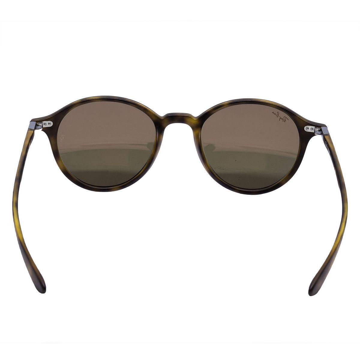 Óculos de Sol Ray Ban Havana Mate - Acetato Tartaruga, Lente Espelhada Rosé  R  694,00 à vista. Adicionar à sacola 0b9ac548a2