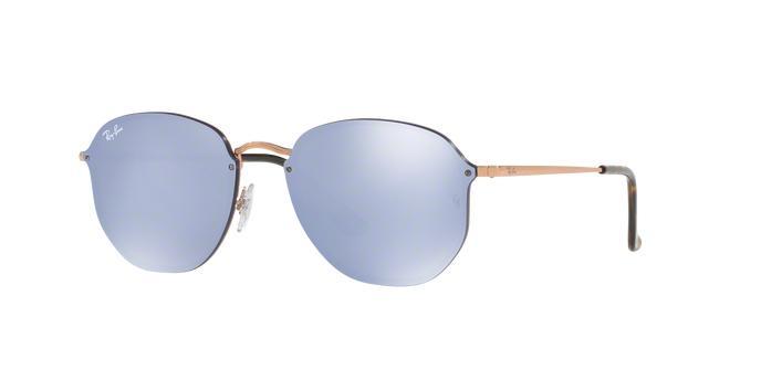 58519e46ed427 Óculos De Sol Ray Ban Hexagonal Blaze RB3579 Cobre Lentes Violeta Prata  Espelhada - Ray-ban R  459,99 à vista. Adicionar à sacola