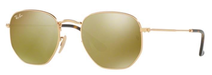 Óculos de Sol Ray Ban Hexagonal Metal RB3548 Ouro Lente Ouro Flat Tam 51 -  Ray-ban R  469,99 à vista. Adicionar à sacola 4e37f12d4e
