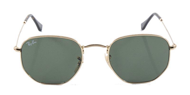 Óculos de Sol Ray Ban Hexagonal Metal RB3548 Ouro Lente Verde G15 Flat Tam  51 - Ray-ban Produto não disponível 6117a24274