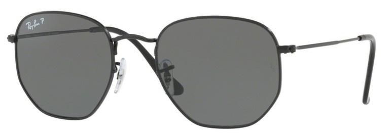 1526665b5 Óculos de Sol Ray Ban Hexagonal Metal RB3548 Preto Lente Verde Flat  Polarizada 51 - Ray-ban Produto não disponível