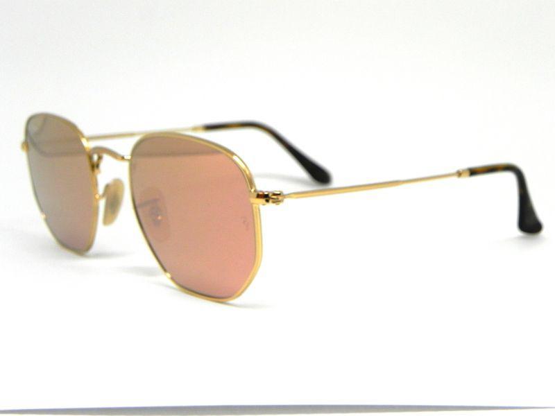 821889838c08b Oculos de sol Ray Ban Hexagonal RB 3548N 001 Z2 51 - Óculos de Sol ...